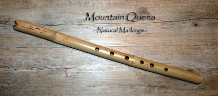 Mountain Quena in D - Natural Markings