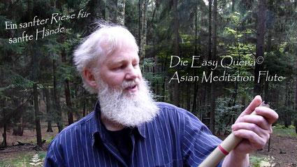 Easy Quena Asian Meditation Flute endblown in A - Ein sanfter Riese für sanfte Hände
