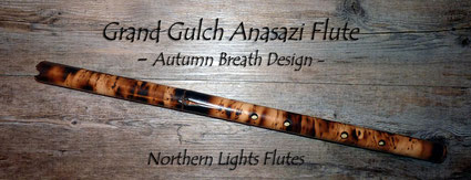 Grand Gulch Anasazi Flute in C# Northern Lights bei Northern Lights Flutes
