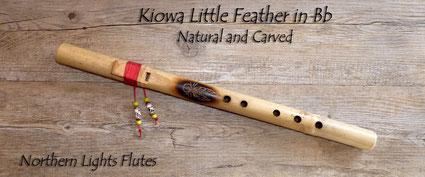 Kiowa Love Flute in Bb Little Feather - auch für Kinder - kleine Flöte, großer Klang