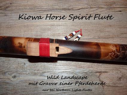 Kiowa Horse Spirit Flute -  Die Pferdeflöte von Northern Lights Flutes - Jürgen Hochfeld