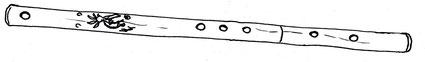 Anasazi sideblown - Northern Lights Flutes