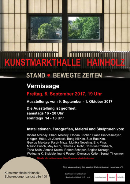 Ausstellung in der KUNSTMARKTHALLE HAINHOLZ