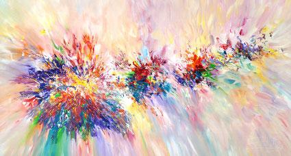 moderne Malerei, abstraktes Gemälde