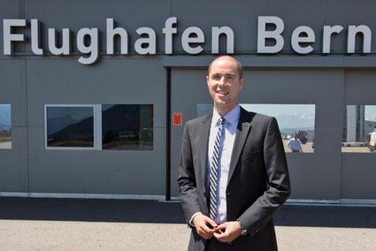 Mathias Gantenbein, ab 1. November 2015 der neue Chef im Belpmoos.