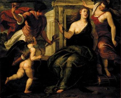 Tintoretto. L'Allegoria della Pace