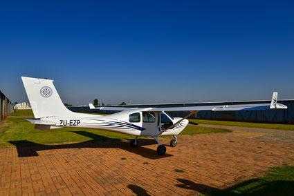 Ausflug mit der hübschen Jabiru J430 Echo-Zulu-Papa