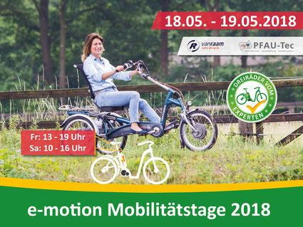 Dreirad und Elektro-Dreirad Mobilitätstage in Eislingen Fils bei Göppingen
