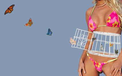 Nicht strukturelle Veränderungen sind beim Reizdarm für die quälenden Bauchschmerzen verantwortlich, sondern eine chronische Veränderung der Hirn-Darm-Achse. Darmsensationen werden eher wahrgenommen, die Schmerzschwelle sinkt. Bild:Stefan Heinz/pixelio.de