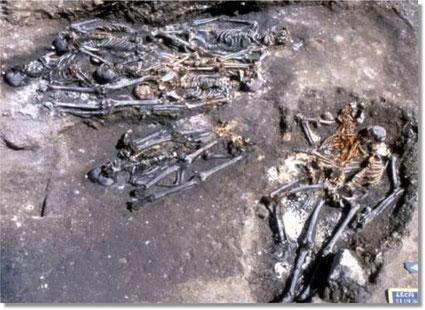 Photographie de fouilles à l'Observance à Marseille, France
