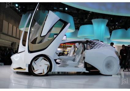 Toyota : concept car électrique -Tokyo 2019