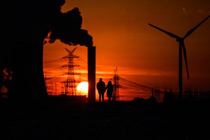 Centrale électrique à charbon - Allemagne, 2021