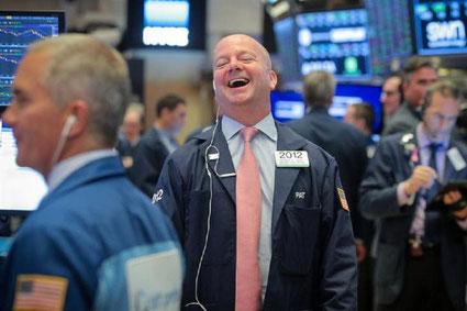 Wall Street, 9 novembre 2020