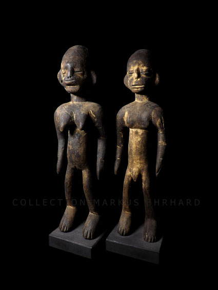 Senufo Senoufo Tugubele couple from Burkina Faso Numu