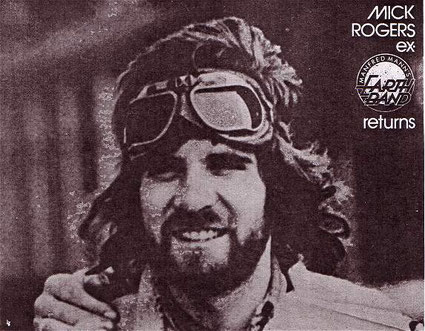 Mick Rogers Returns to Australia 1976
