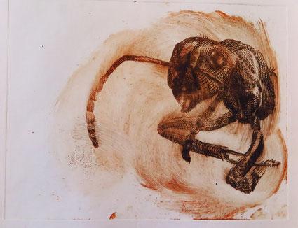 Ameise aus der Kunstwerkstatt an der Lorze, Verein Kubeis