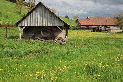 Mühle bei Titisee-Neustadt im Schwarzwald.