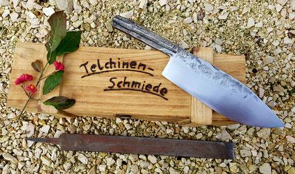 geschmiedetes Küchenmesser für Rechtshänder