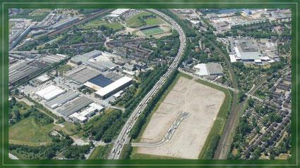 Luftbild des Gewerbeparks A42. Bildrechte: Stadt Gelsenkirchen