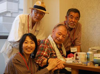 宮脇昭先生と写真