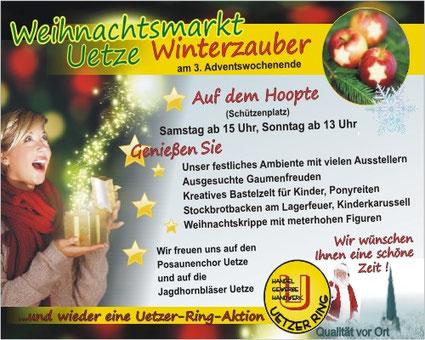Uetze Weihnachtsmarkt 2015 vom Team Uetzer Ring