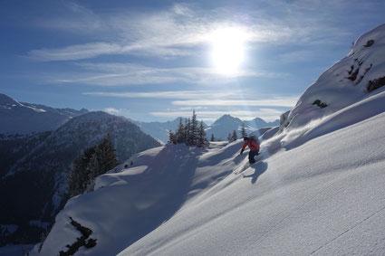 Freeridewoche in Davos statt La Grave, dafür mit Schnee :-)
