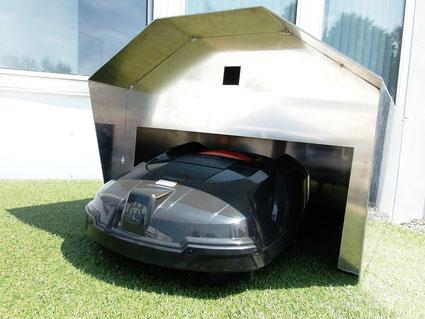 rolltor garage robomaeher theuner. Black Bedroom Furniture Sets. Home Design Ideas
