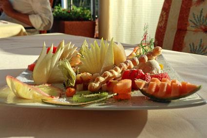 Dessert mit Früchten