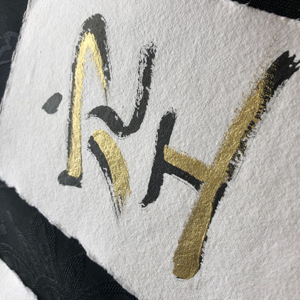Japanese Calligraphy Art by Azumi Uchitani