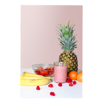 Frisches Obst und Gemüse für das Smoothie-Catering