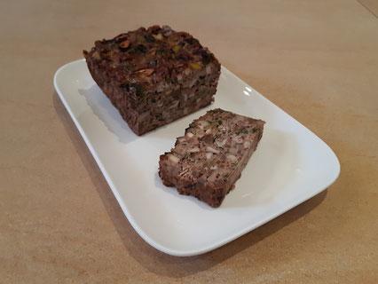 Paddenstoelen-linzenbrood met pecannoten