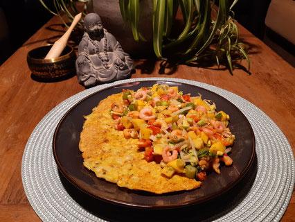 Omelet kip Hawaï (Doelgericht Coaching)