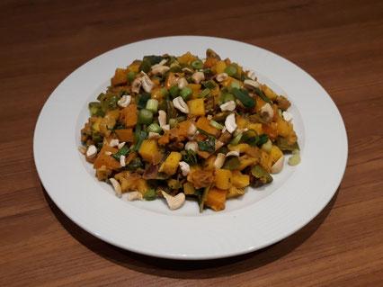 Groene curry met gehakt (Doelgericht Coaching)