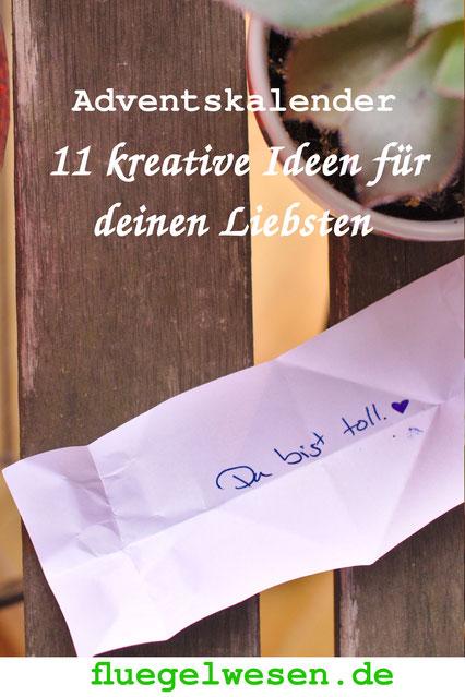 Adventskalender-Ideen für Erwachsene - fluegelwesen. de