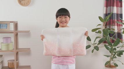 安心の西川 『 手作りキッズまくら 』 / 自分で作れる子供枕