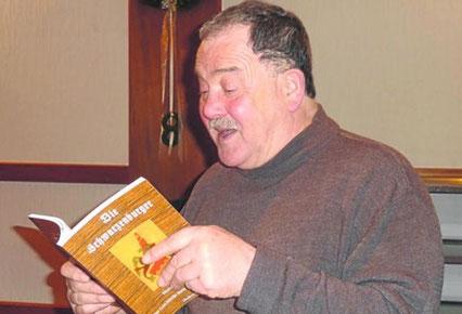 """Heribert Blab liest aus seinem Roman """"Die Schwarzenburger"""""""