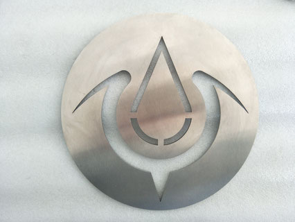 Stainless steel laser cutting for decoration