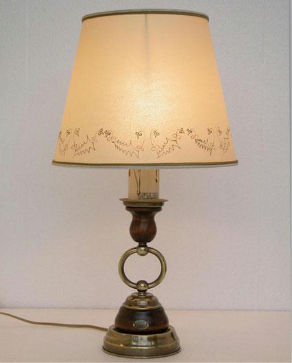テーブルランプ 照明 おしゃれ イタリア製 カパーニ 古木 照明器具 クリスマス キャンドル クラシック エレガント ゴージャス CAPANNI