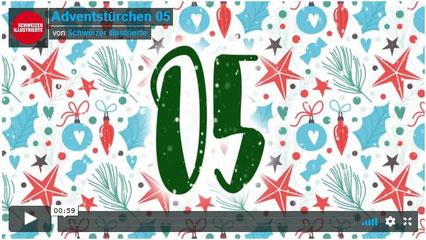 Schweizer Illustrierte Adventstürchen