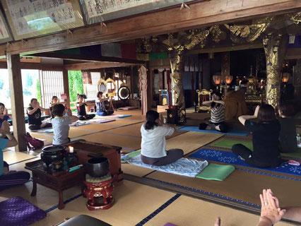 寺ヨガ&体幹トレーニング教室