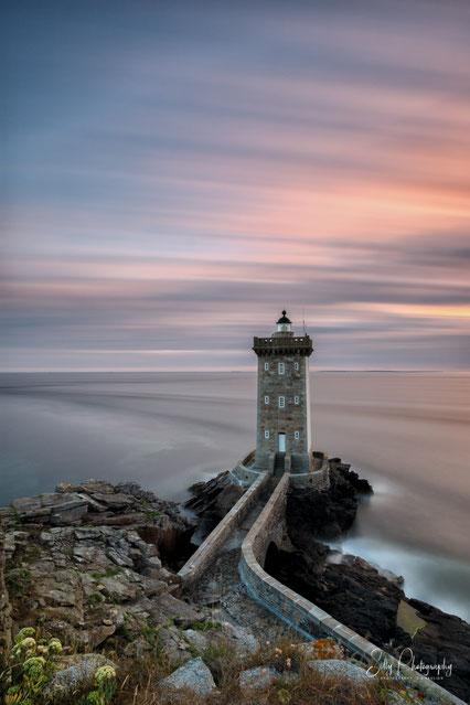 Frankreich / Bretagne / Leuchtturm Kermorvan, Langzeitbelichtung, 2016, © Silly Photography