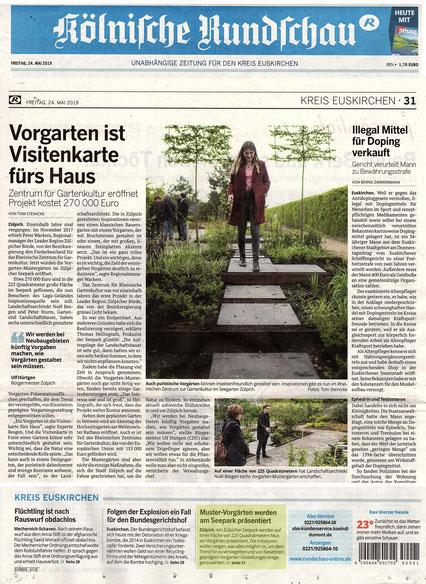"""Eröffnung """"Muster-Vorgärten"""" Seepark Zülpich I Planung+Entwurf : besgen Landschaftsarchitektur"""