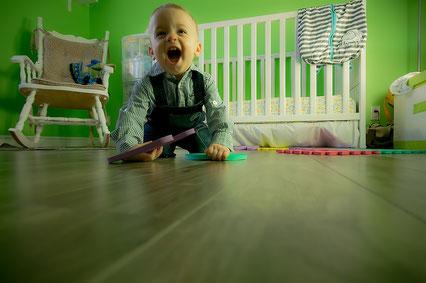 Evolution de la motricité d'un bébé jusqu'à l'école primaire