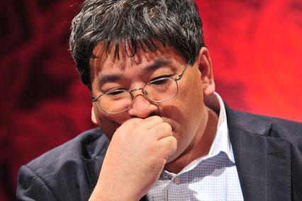 北海道最強位・酒井永楽さんはオーラスで逆転の四暗刻を聴牌するも流局