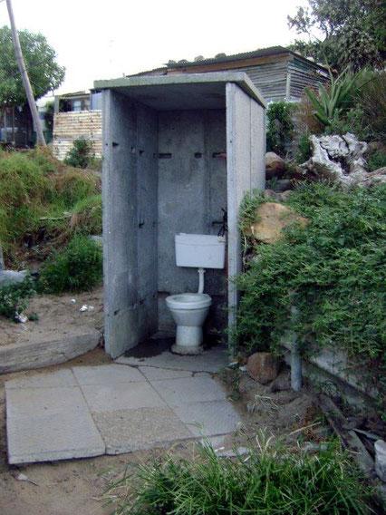 Communal Toilet, Hout Bay
