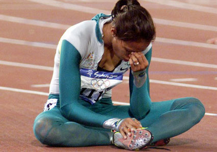 Cathy Freeman Olympia Momente des Sports