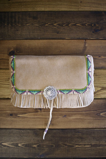 Deer Skin Clutch Bag