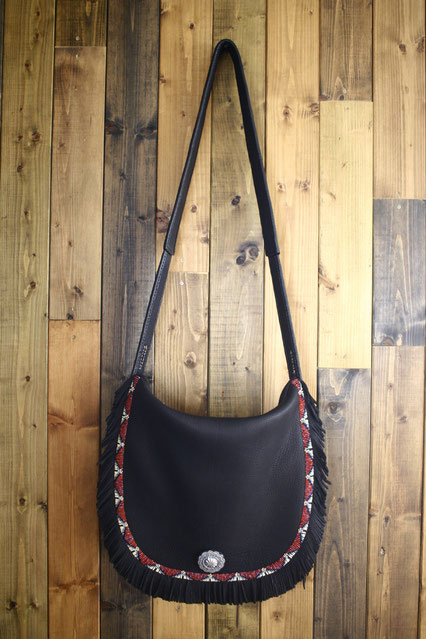 Deer Skin Shoulder Bag