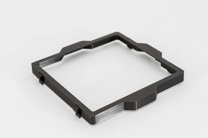 Abschatter 150mm Filterhalterung von logodeckel
