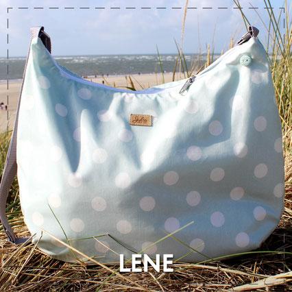 Julia Design Handarbeit handmade Tasche bag Stoff Umhängetasche Lene